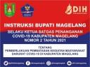INSTRUKSI BUPATI MAGELANG NOMOR 2 TAHUN 2021 TENTANG PPKM DARURAT COVID-19…
